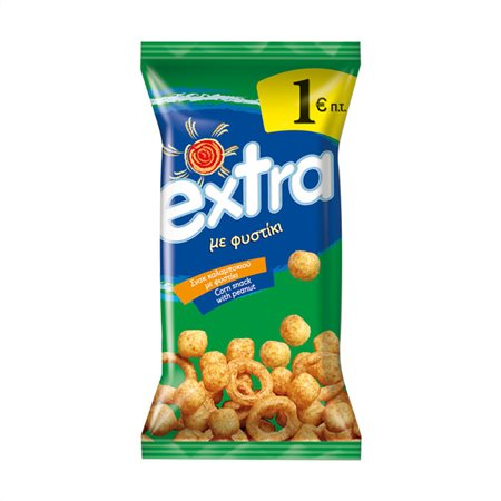 Extra Snack Με Φιστίκι 125gr