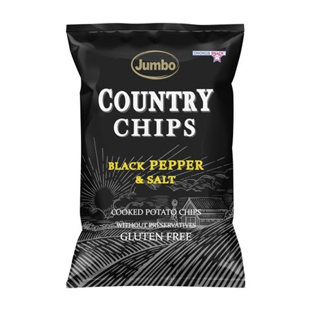 Jumbo Country Πατατάκια Πιπέρι Χωρίς Γλουτένη 150gr