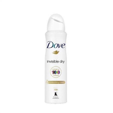 Dove Αποσμητικό Spray Invisible Dry 150ml