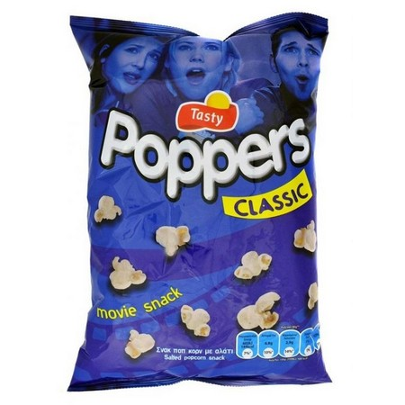TASTY SNACKS POPPERS 84gr
