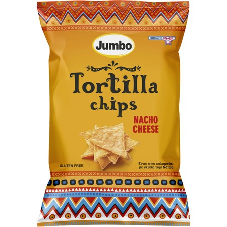 OHONOS JUMBO Tortilla Chips Nacho Cheese 130gr