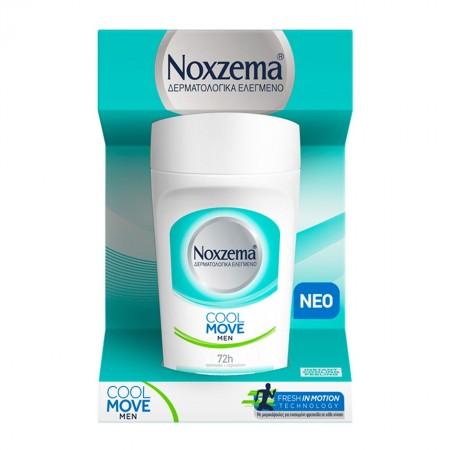 NOXZEMA Ανδρικό αποσμητικό roll on Cool Move 1+1 ΔΩΡΟ